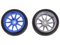 DF-FIT0199-B Wheel blue Shaft