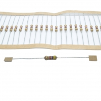 10x PR02-300K Resistor power metal THT