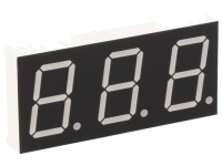 KW3-801CGB Display LED 7-segment