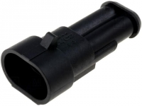 8x AMP-0-0282104-1 Connector