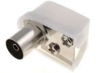 4x COAX-SOCKET2 Plug coaxial 9.5mm