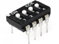 2x EAH104E Switch DIP-SWITCH Poles