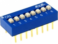 EDG108S Switch DIP-SWITCH Poles