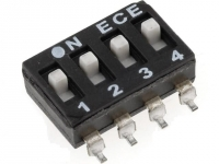 2x ESD104E Switch DIP-SWITCH Poles
