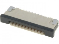 4x F1003WR-S-10PB Connector FFC /