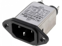 FYB10T1 Connector AC mains IEC