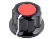2x G19-RD Knob with flange