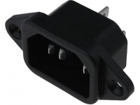 KS102 Connector AC mains IEC 60320