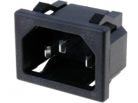 KS202 Connector AC mains IEC 60320