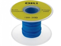 KYNAR30AWG100BL Cable solid OFC