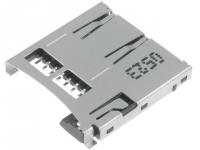 MCC-SDMICRO Connector for cards SD