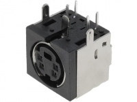 2x MDC-204 Socket DIN mini female