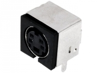 2x MDC-204E Socket DIN mini female