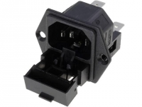 PF0030/63 Connector AC mains IEC