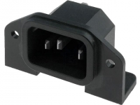 PX0580/PC Connector AC mains IEC