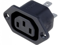 PX0675/63 Connector AC mains IEC