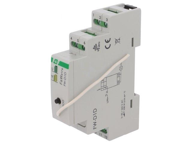 FWD1D Module wireless receiver dimmer switch Usup85÷265VAC IP20 F AND F